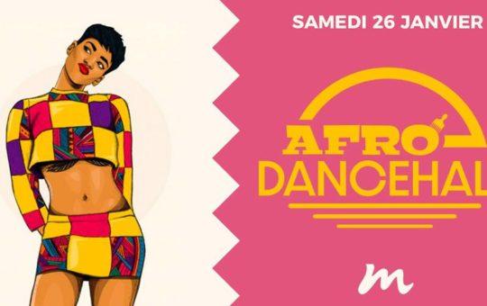Affiche de la soirée afro GC Sound