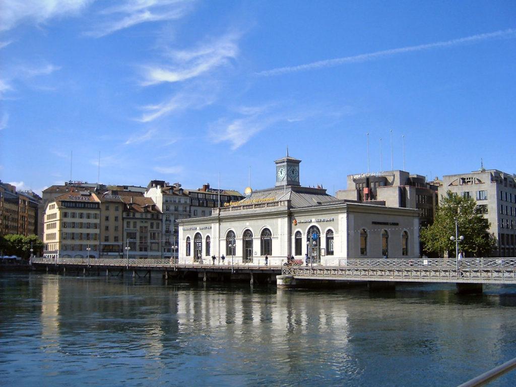 des activités gratuites à faire à Genève au pont de la machine