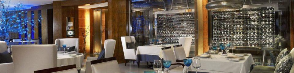 Salle du restaurant Bayview