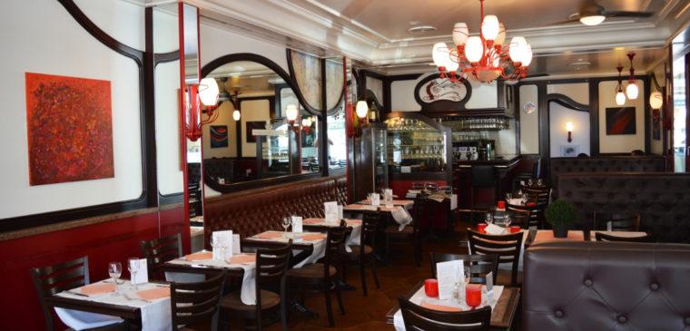 Salle du restaurant La Brasserie Genevoise