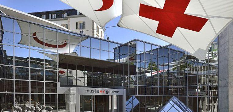 Entrée du musée de la Croix Rouge