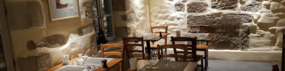 Salle du restaurant Délice Ange'Vin