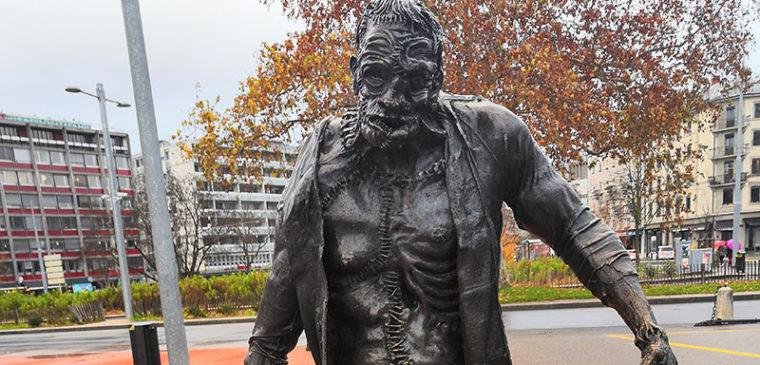 Statue de Frankenstein