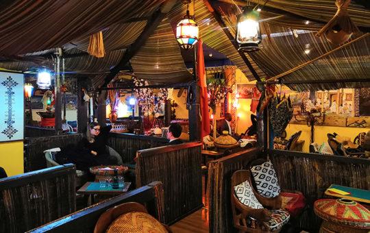 salle du restaurant gazelle d'or