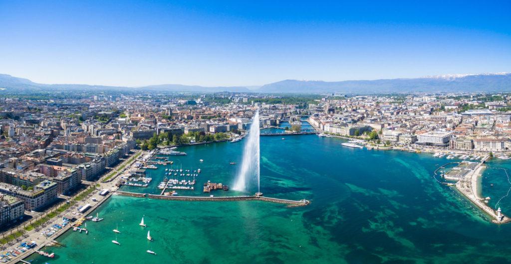 le lac et le jet d'eau des activités gratuites à faire à Genève