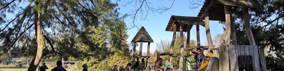 parc aux jeux jardin botanique