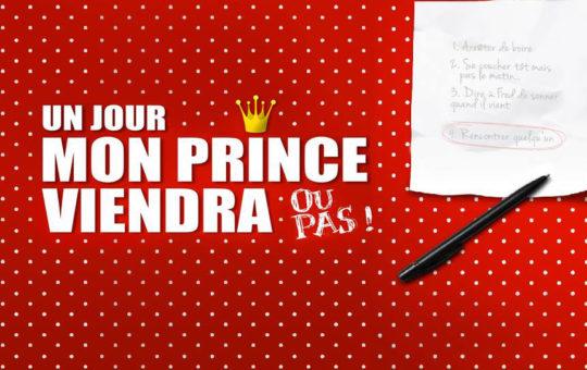 Affiche théâtre Un jour mon prince viendra Genève