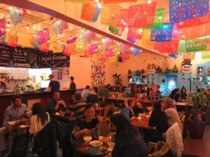 Salle du restaurant mexicain el catrin geneve