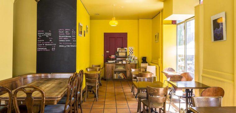 Salle du restaurant saveurs et couleurs à genève