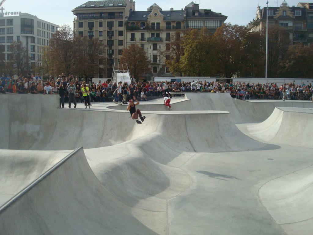 skatepark de plainpalais