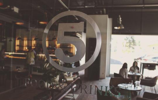 Salle du restaurant le 5 Genève