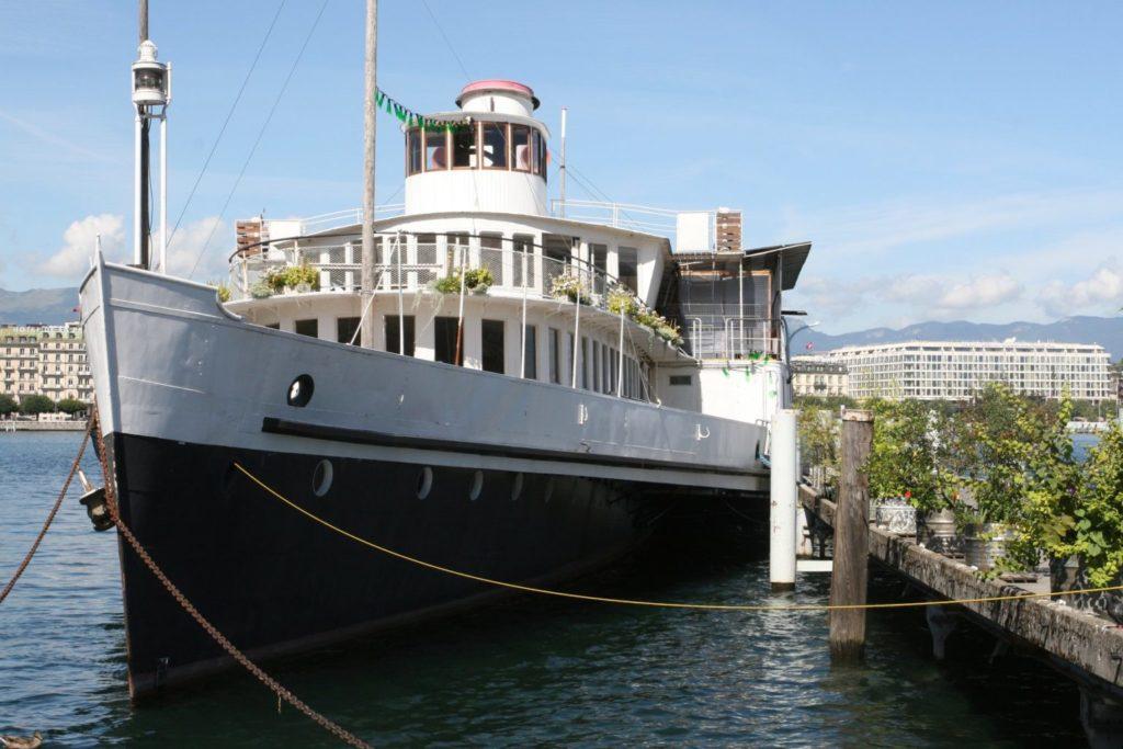 restaurant bar bateau Genève