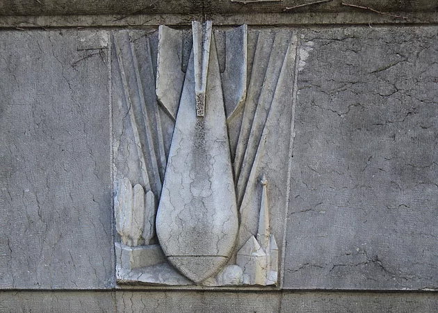 bombe sculptée la madeleine