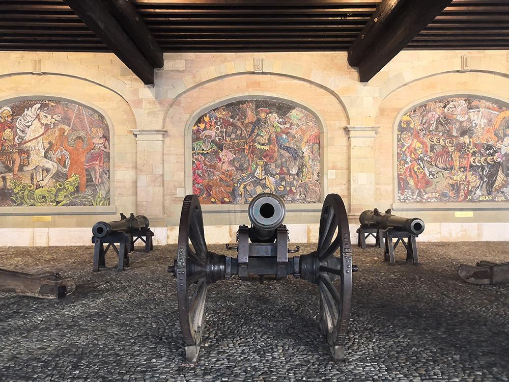 canons genevois en vieille ville