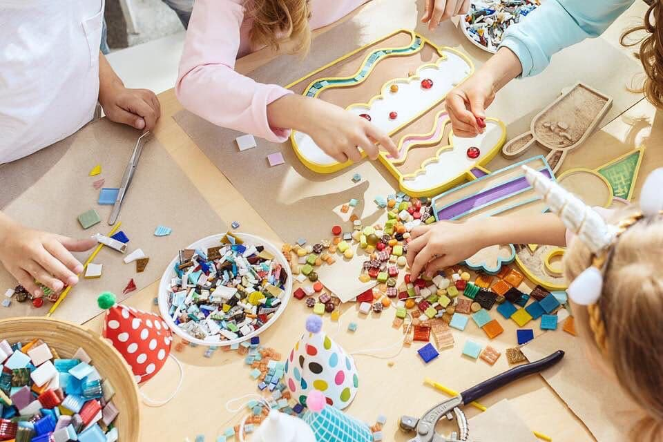 atelier créatif en famille genève