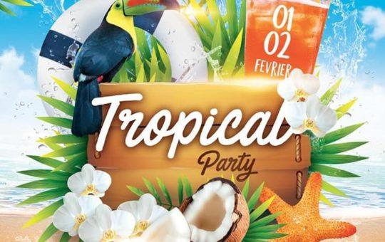 soirée DJ tropical party au brasseur des grottes genève