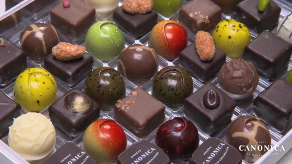 chocolats canonica