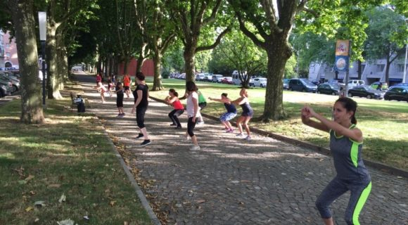 Urban training à Carouge