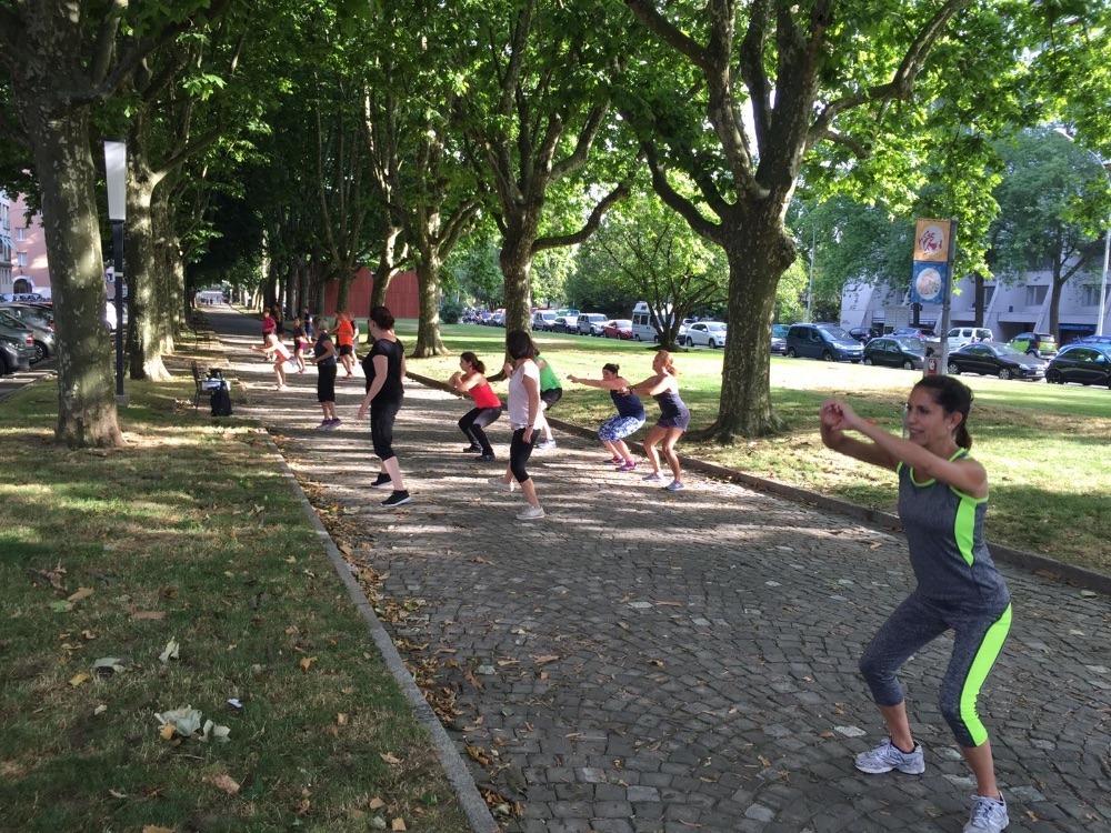 Urban training à Carouge
