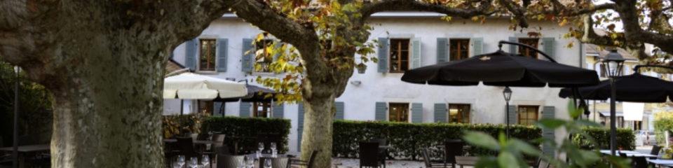 terrasse du restaurant Vicolo 39 carouge