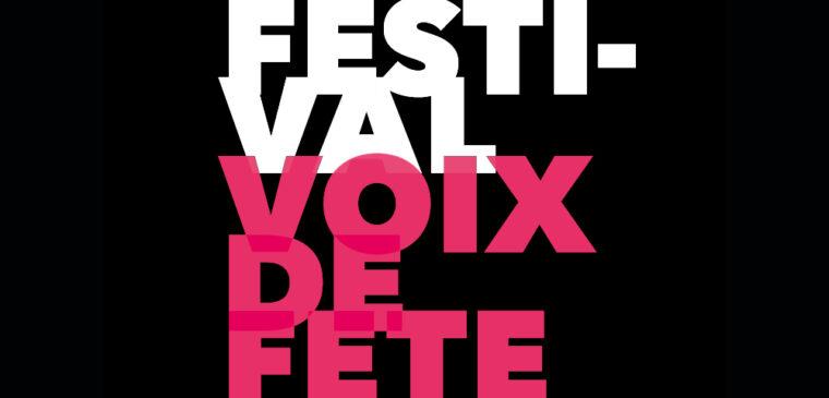 festival voix de fête 2021 genève