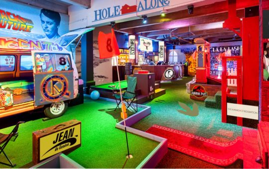 rollers bar mini golf