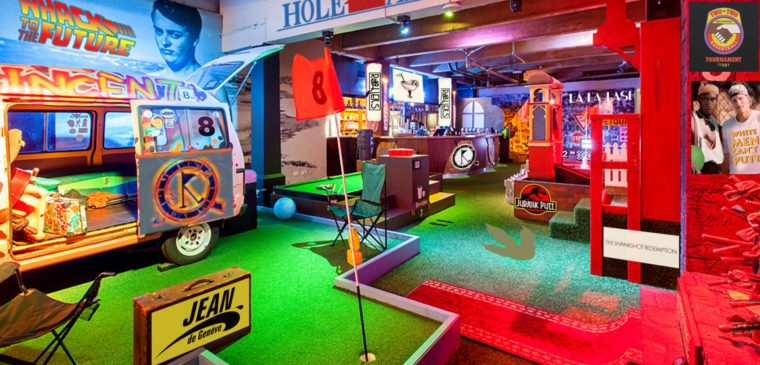 rollers bar mini golf