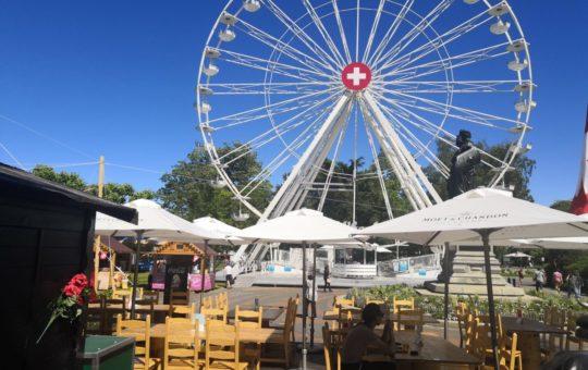 restaurant village suisse