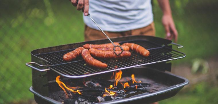 barbecue dans un parc