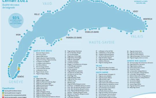 carte des plages 2021