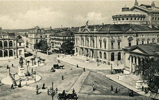 Place de neuve en 1909