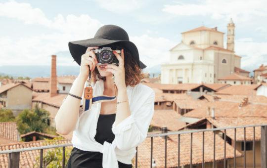 femme photographie