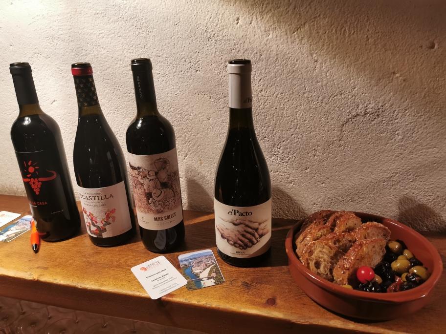 vins espagnols et tapas