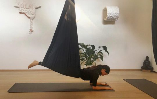 yoga aérien restauratif