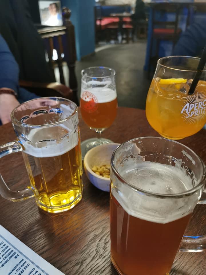 sélection de bières au flanagan's