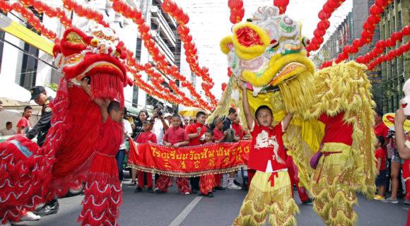 défilé nouvel an chinois