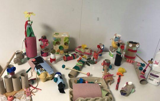 atelier de récupération enfants
