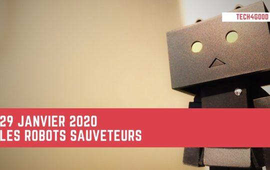 robots sauveteurs