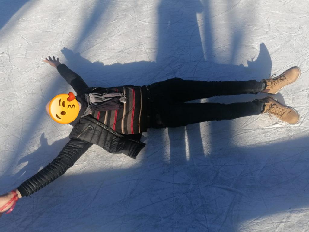 ange sur glace