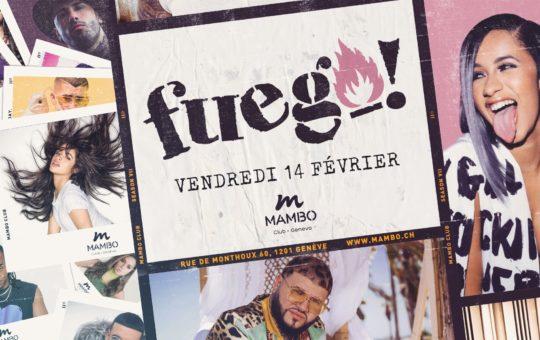 soirée fuego au mambo genève
