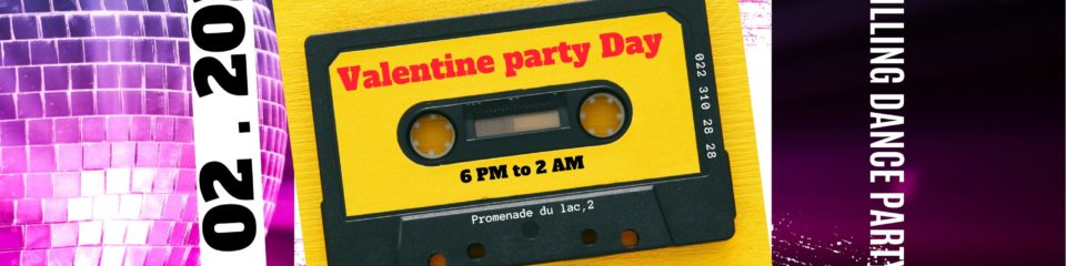 valentine party à la potiniere