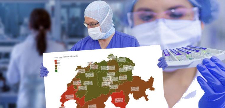 situation du coronavirus en suisse