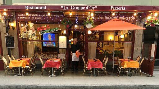 restaurant la grappe or genève