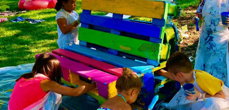 création salon d'été