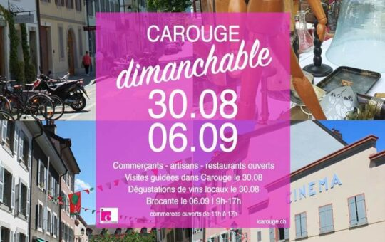 carouge dimanchable