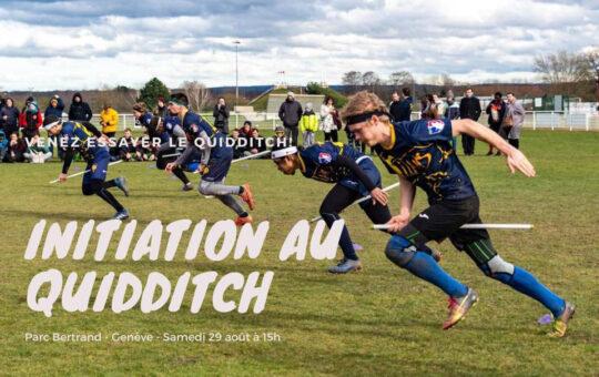 initiation au quiddich geneve