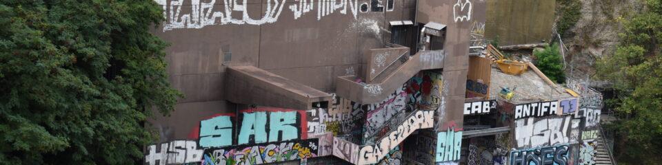 balade street art rhone genève