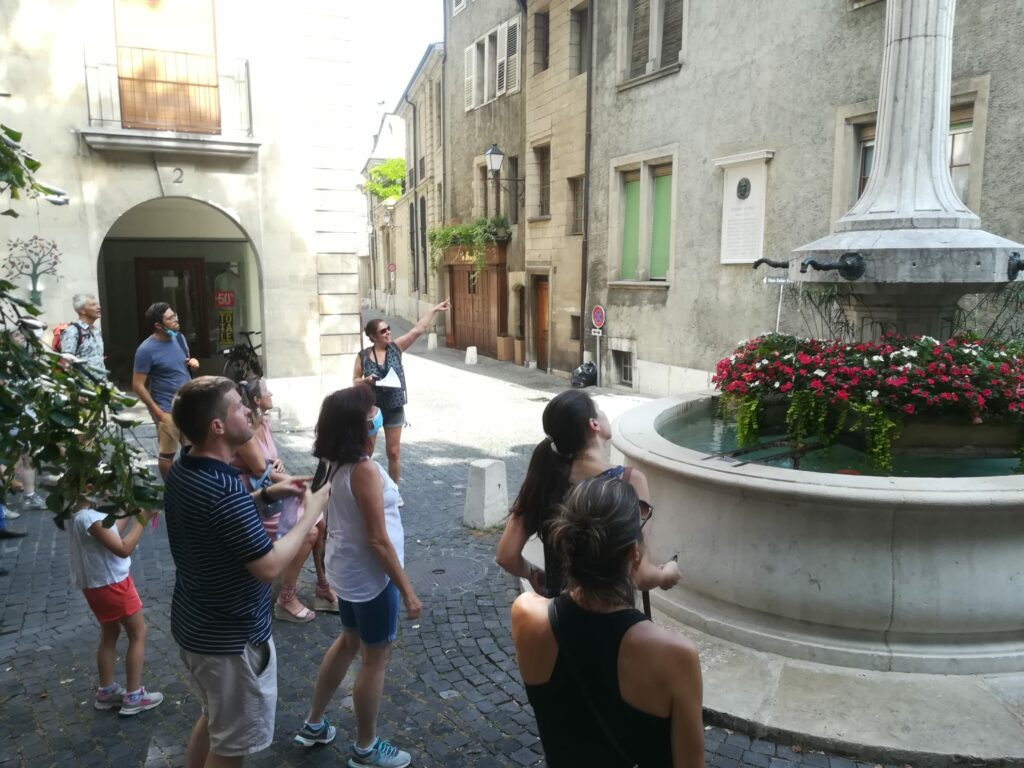 Genève secrete vieille ville