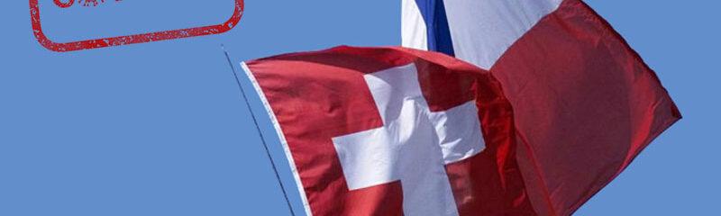 mesures covid en france et en suisse