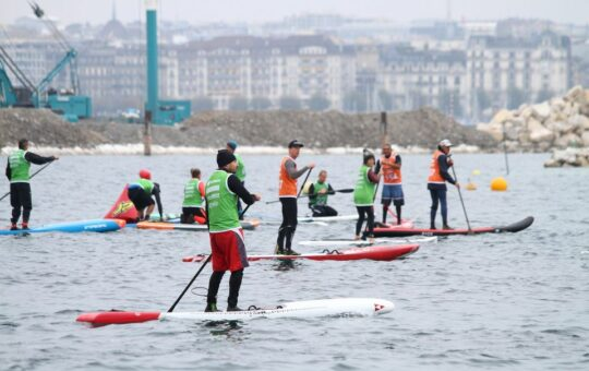 stand up paddle race genève